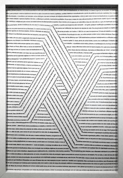Ricardo Villa, 'Articulando princípios #1', 2015