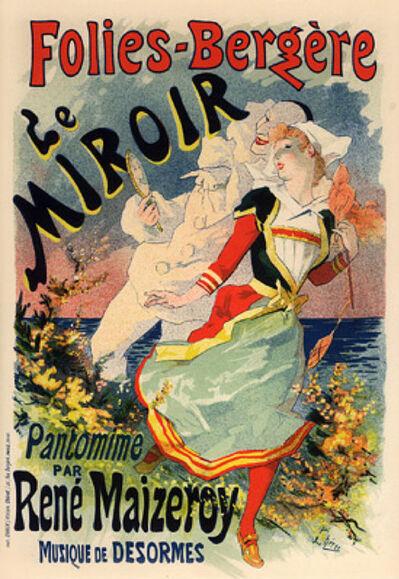 Jules Chéret, 'Le Miroir', 1895-1900