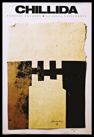 Eduardo Chillida, 'CHILLIDA (Hand Signed) from the Robert and Ruth Vogele Collection', 1983
