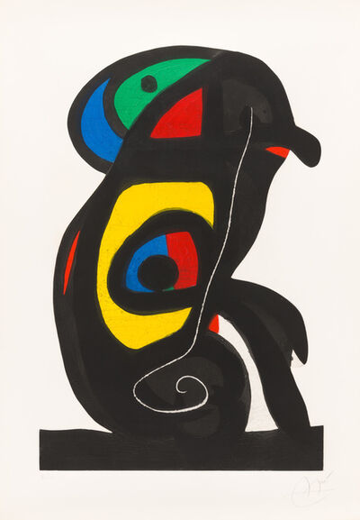 Joan Miró, 'The Brahman', 1978