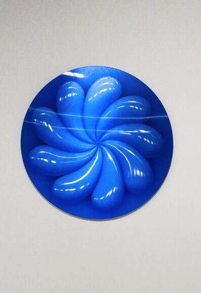 Sasha Frolova, 'TWIRL (Lenticular print, Blue)', 2020