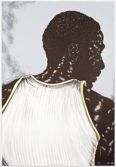 Toyin Ojih Odutola, 'Birmingham (right)', 2014