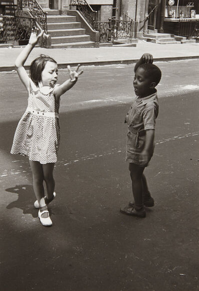 Helen Levitt, 'New York (two children dancing)', ca. 1940
