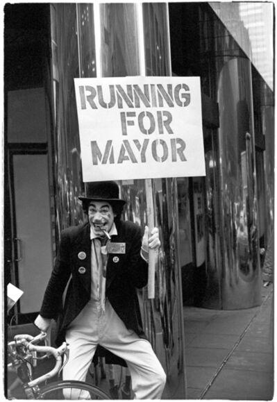 Al Satterwhite, 'Running for Mayor', 1980