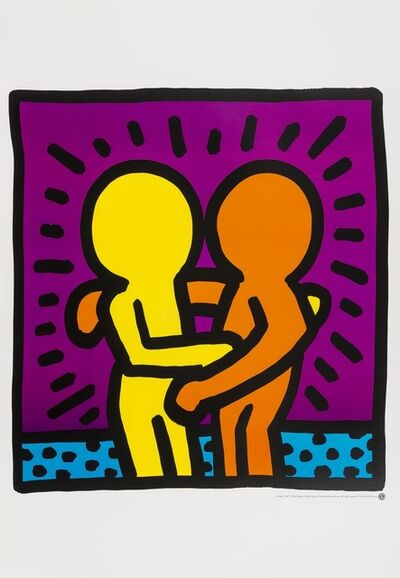 After Keith Haring, 'Untitled (Best Buddies)', 1987