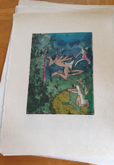 Roberto Matta, 'Centre Noeds - Plate I', 1974