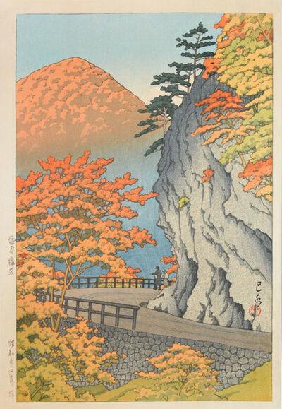 Kawase Hasui, 'Saruiwa, Shiobara', 1949