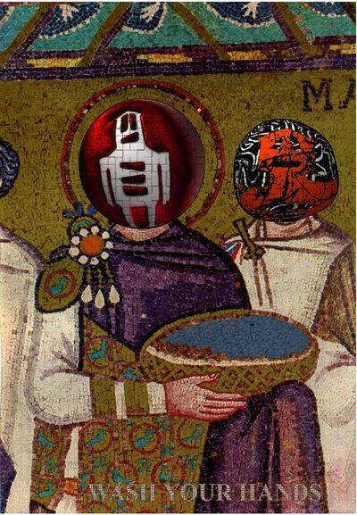 Stikman, 'Ravenna Mosaic', 2020