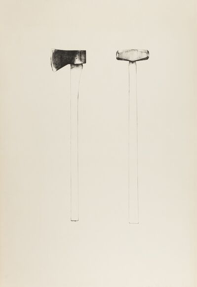 Jim Dine, 'Sledgehammer and Axe (Williams 46)', 1971