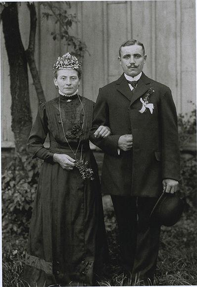 August Sander, 'Wedding portrait', 1913