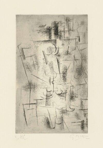 Georges Braque, 'Composition (Nature Morte aux Verres)', 1912