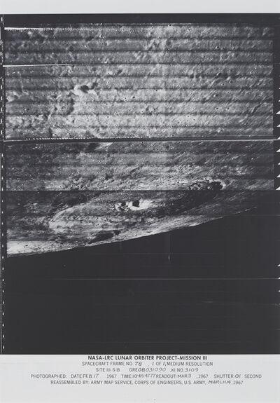 NASA, 'Spacecraft Frame No. 78', 1967