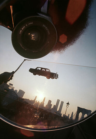 Robert Funk, 'Flying Car over the Manhattan Skyline', 1975