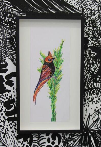 Chourouk Hriech, 'Les oiseaux dans ma tête #1', 2020
