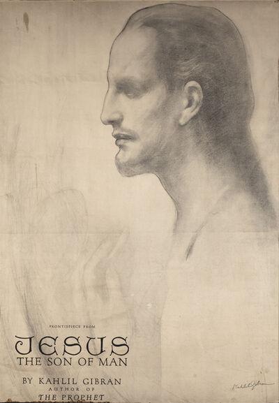Gibran Kahlil Gibran, 'Cartel de la portada de Jesús el Hijo del Hombre', 1928