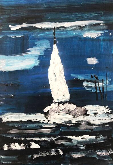 Isabelle Mahaut, 'Bateau dans la tempête', 2019
