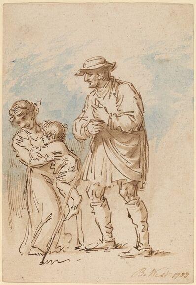 Benjamin West, 'Vagabond Family [recto]', 1788