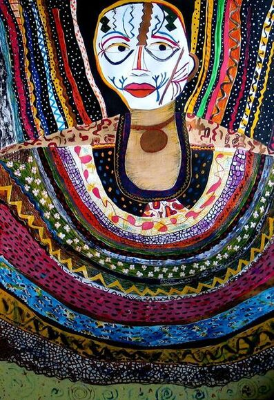 Pacita Abad, 'African Mephisto', 1990