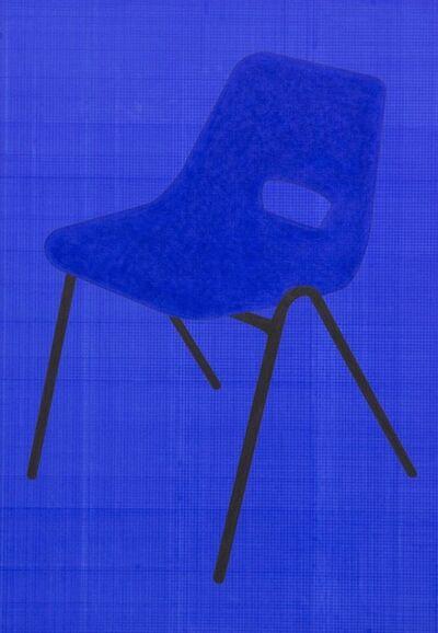 John Wood and Paul Harrison, 'Blue Chair', 2015