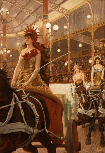 James Jacques-Joseph Tissot, 'Ladies of the Chariots (Ces Dames des Chars)', 1883-1885