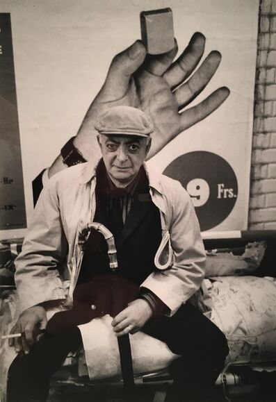 André Kertész, 'Portrait of Brassaï', 1963