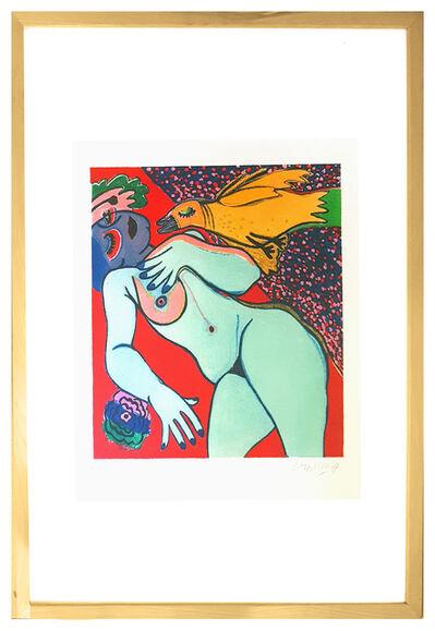 Corneille, 'Nude', 1977