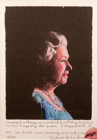 Sir Peter Blake, R.A., 'To Her Majesty, Queen Elizabeth II', 2016