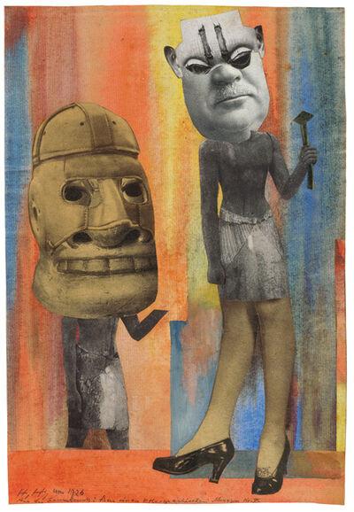 Hannah Höch, 'Aus der Sammlung: Aus einem Ethnographischen Museum Nr. IX.', 1929