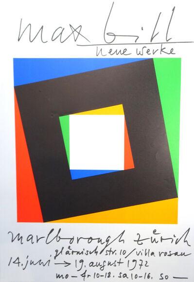 Max Bill, 'Neue Werke', 1972