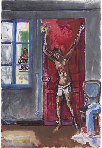 Antonio Berni, 'Sin Título (Boceto para Cristo en el departamento).', 1980-1981