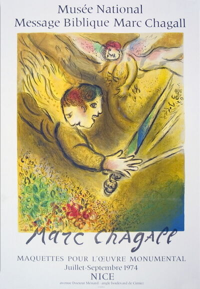 Marc Chagall, 'The Angel of Judgment', 1974