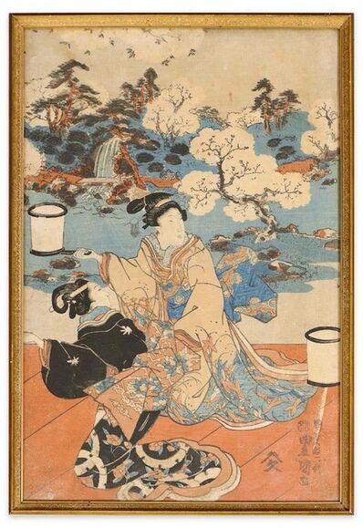 Utagawa Kuniyoshi, 'Kabuki Scene', Mid 19th Century