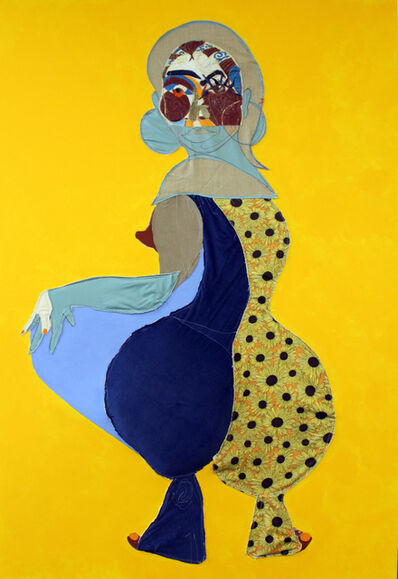 Tschabalala Self, 'Carma', 2016
