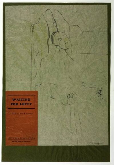 R. B. Kitaj, 'Waiting for Lefty', 1974
