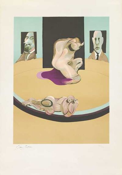 Francis Bacon, 'Metropolitan Museum of Art', 1975