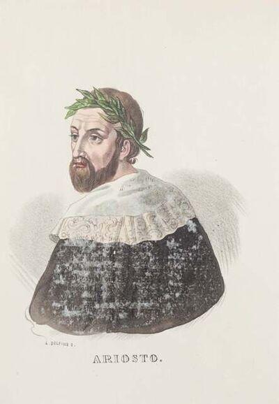 Dolfino, 'Portrait of Ludovico Ariosto', 19th Century