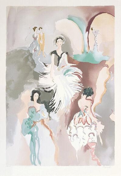 Jane Bazinet, 'BALLET VISIONS (PLATE 1)', 1988