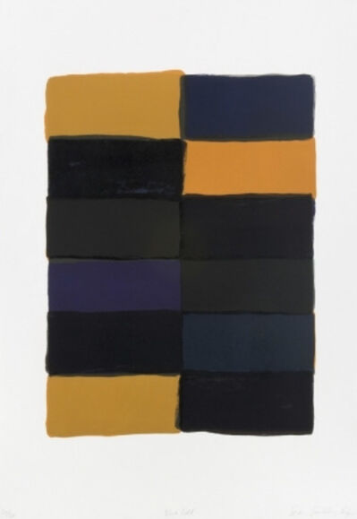 Sean Scully, 'Blue Fold', 2007
