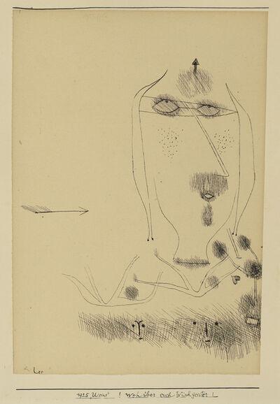 Paul Klee, '!Weh über euch Wischgeister! (Alas Over You Rag-Spirits!)', 1925