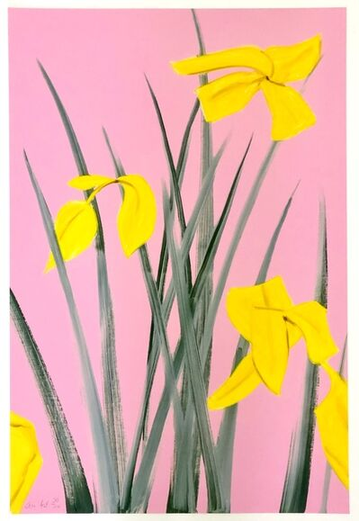 Alex Katz, 'Yellow Flags 3', 2019