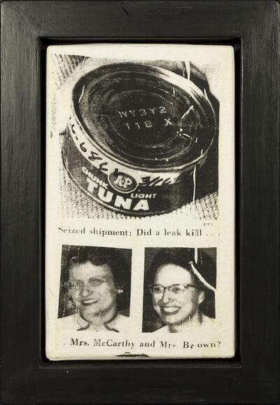 Andy Warhol, 'Tuna Disaster', 1985