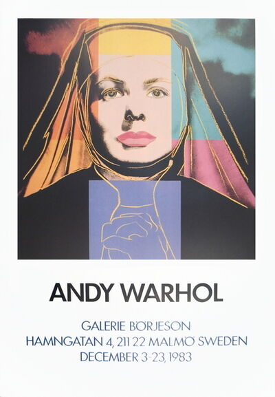 Andy Warhol, 'Ingrid The Nun', 1983