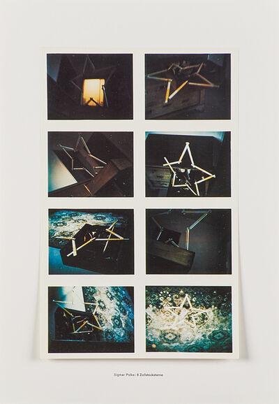 Sigmar Polke, '8 Zollstocksterne', 1970