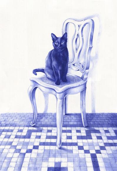 Nuria Riaza, 'El gato', 2018