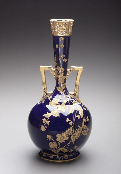 Unknown Artist, 'Vase; Greenwood Art Pottery Company, Trenton', ca. 1880