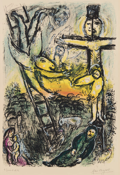 Marc Chagall, 'Vision de Jacob (Jacob's Vision)', 1971