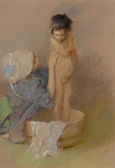 Robert Frederick Blum, 'The Bath', 1890