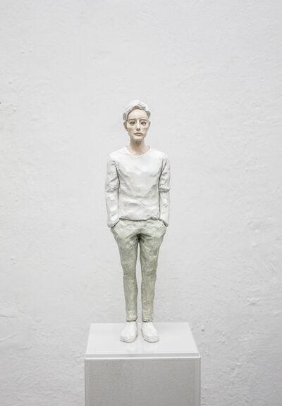Hirofumi Fujiwara, 'utopian (mossblue)', 2019
