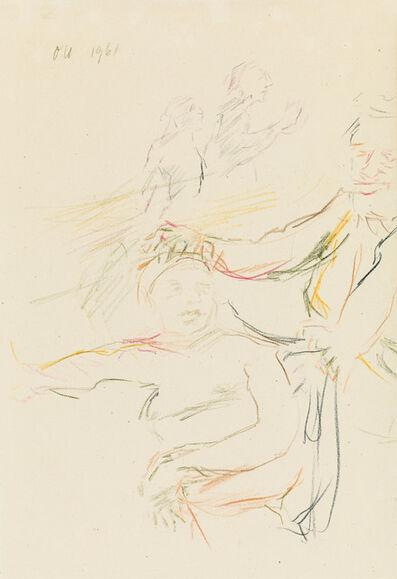 Oskar Kokoschka, 'The Captivated Fantasy ', 1961