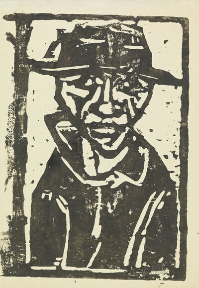 Christian Rohlfs, 'BAUER', 1921